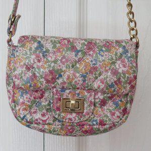 GIRLS FLORAL PADDED BAG